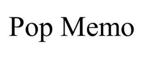 POP MEMO
