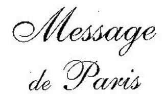 MESSAGE DE PARIS