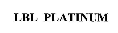 LBL PLATINUM