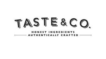 TASTE & CO. HONEST INGREDIENTS AUTHENTICALLY CRAFTED