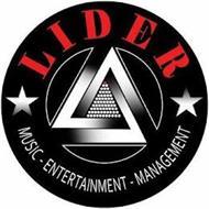 LIDER MUSIC-ENTERTAINMENT-MANAGEMENT