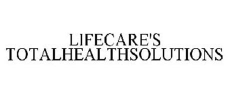 LIFECARE'S TOTALHEALTHSOLUTIONS