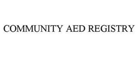 COMMUNITY AED REGISTRY