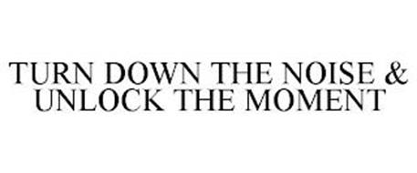TURN DOWN THE NOISE & UNLOCK THE MOMENT