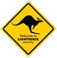WELCOME TO LIGHTFORCE COUNTRY