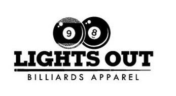 LIGHTS OUT BILLIARDS APPAREL 9 8