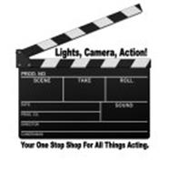 LIGHTS, CAMERA, ACTION! YOUR ONE STOP SHOP FOR ALL THINGS ACTING.