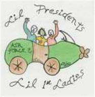 LIL PRESIDENTS AIR FORCE 2 LIL 1ST LADIES