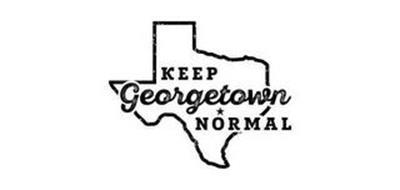KEEP GEORGETOWN NORMAL