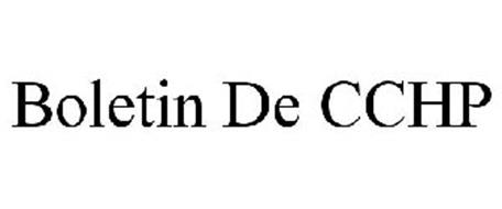 BOLETIN DE CCHP