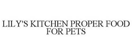 LILY'S KITCHEN PROPER FOOD FOR PETS