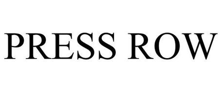 PRESS ROW