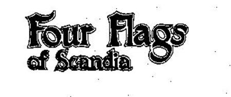 FOUR FLAGS OF SCANDIA