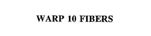 WARP 10 FIBERS