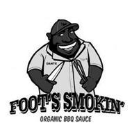 DANTE FOOTS SMOKIN ORGANIC BBQ SAUCE