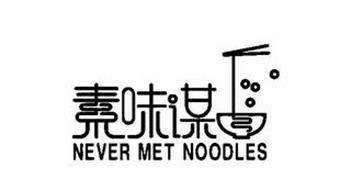 NEVER MET NOODLES