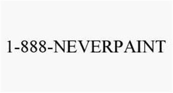 1-888-NEVERPAINT