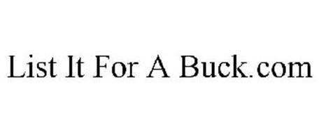 LIST IT FOR A BUCK.COM