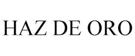 HAZ DE ORO
