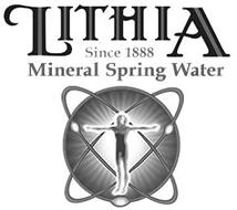 LITHIA SPRING WATER SINCE 1888 MINERAL SPRING WATER