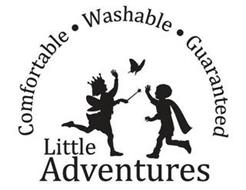 LITTLE ADVENTURES COMFORTABLE · WASHABLE · GUARANTEED