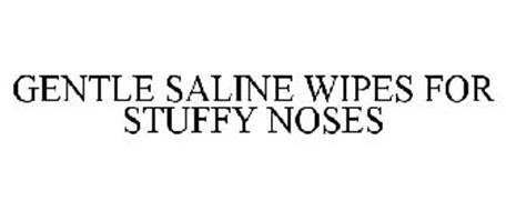 GENTLE SALINE WIPES FOR STUFFY NOSES