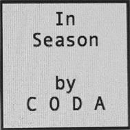 IN SEASON BY CODA
