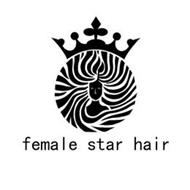 FEMALE STAR HAIR