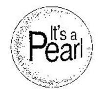 IT'S A PEARL