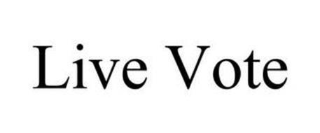 LIVE VOTE