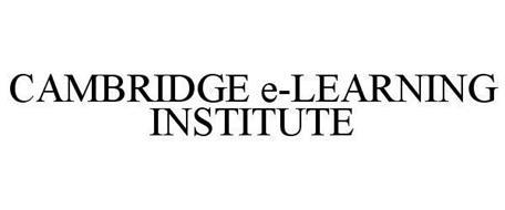 CAMBRIDGE E-LEARNING INSTITUTE