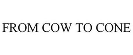 FROM COW TO CONE