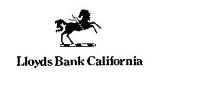 LLOYDS BANK CALIFORNIA