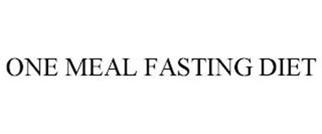 ONE MEAL FASTING DIET
