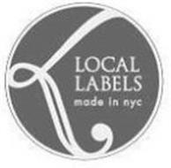 L LOCAL LABELS MADE IN NYC