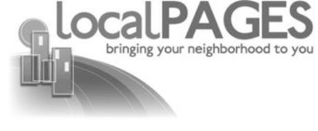 LOCALPAGES BRINGING YOUR NEIGHBORHOOD TO YOU