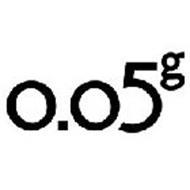 0.05G