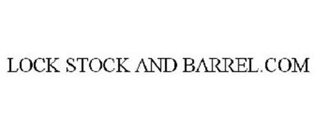 LOCK STOCK AND BARREL.COM