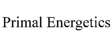 PRIMAL ENERGETICS