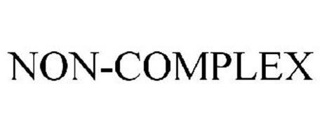 NON-COMPLEX