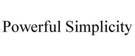 POWERFUL SIMPLICITY