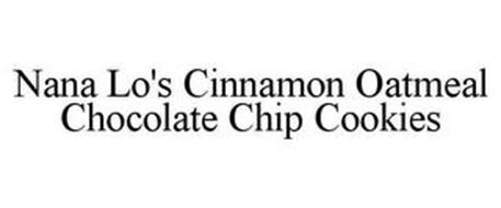 NANA LO'S CINNAMON OATMEAL CHOCOLATE CHIP COOKIES