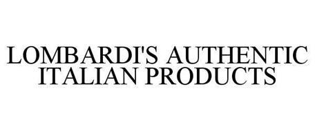 LOMBARDI'S AUTHENTIC ITALIAN PRODUCTS