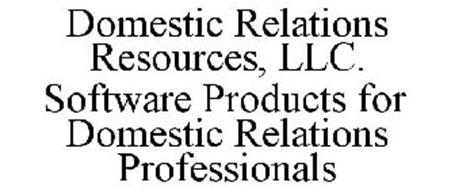 DOMESTIC RELATIONS RESOURCES, LLC. SOFTWARE PRODUCTS FOR DOMESTIC RELATIONS PROFESSIONALS