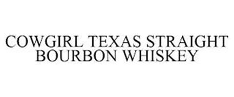 COWGIRL TEXAS STRAIGHT BOURBON WHISKEY