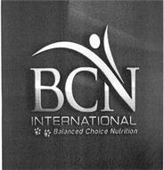 BCN INTERNATIONAL BALANCED CHOICE NUTRITION