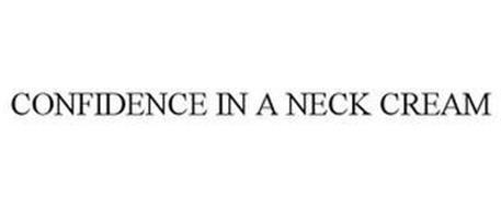 CONFIDENCE IN A NECK CREAM