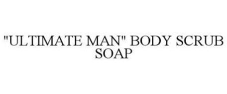 """ULTIMATE MAN"" BODY SCRUB SOAP"
