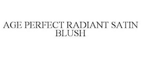 AGE PERFECT RADIANT SATIN BLUSH
