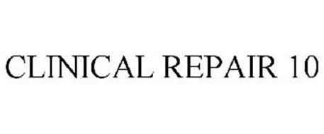 CLINICAL REPAIR 10